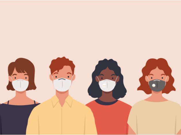 GroupSolver infographic about face mask controversy
