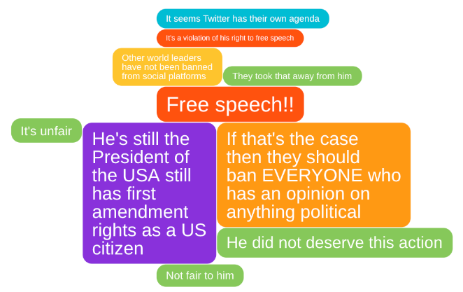 IdeaCloud™ about why NOT support Trump Twitter ban